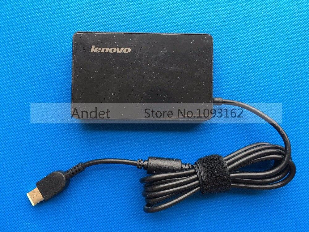 New Original 20 V 3.25A 65 W AC DC Adaptateur D'alimentation Chargeur de batterie pour Lenovo ThinkPad X1 Carbone T440 T440S Mince 2PIN
