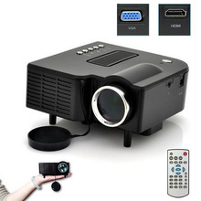 New Portable Multimedia LED Projector Home Cinema Theater Support AV VGA USB SD HDMI Black Jan 23 otha gm60 1000 lumens mini led projector for hd video games tv home theater movie support hdmi vga av sd portable proyector