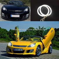 HochiTech Excellent CCFL Angel Eyes Kit Ultra Bright Headlight Illumination For Opel GT Roadster 2007 2008