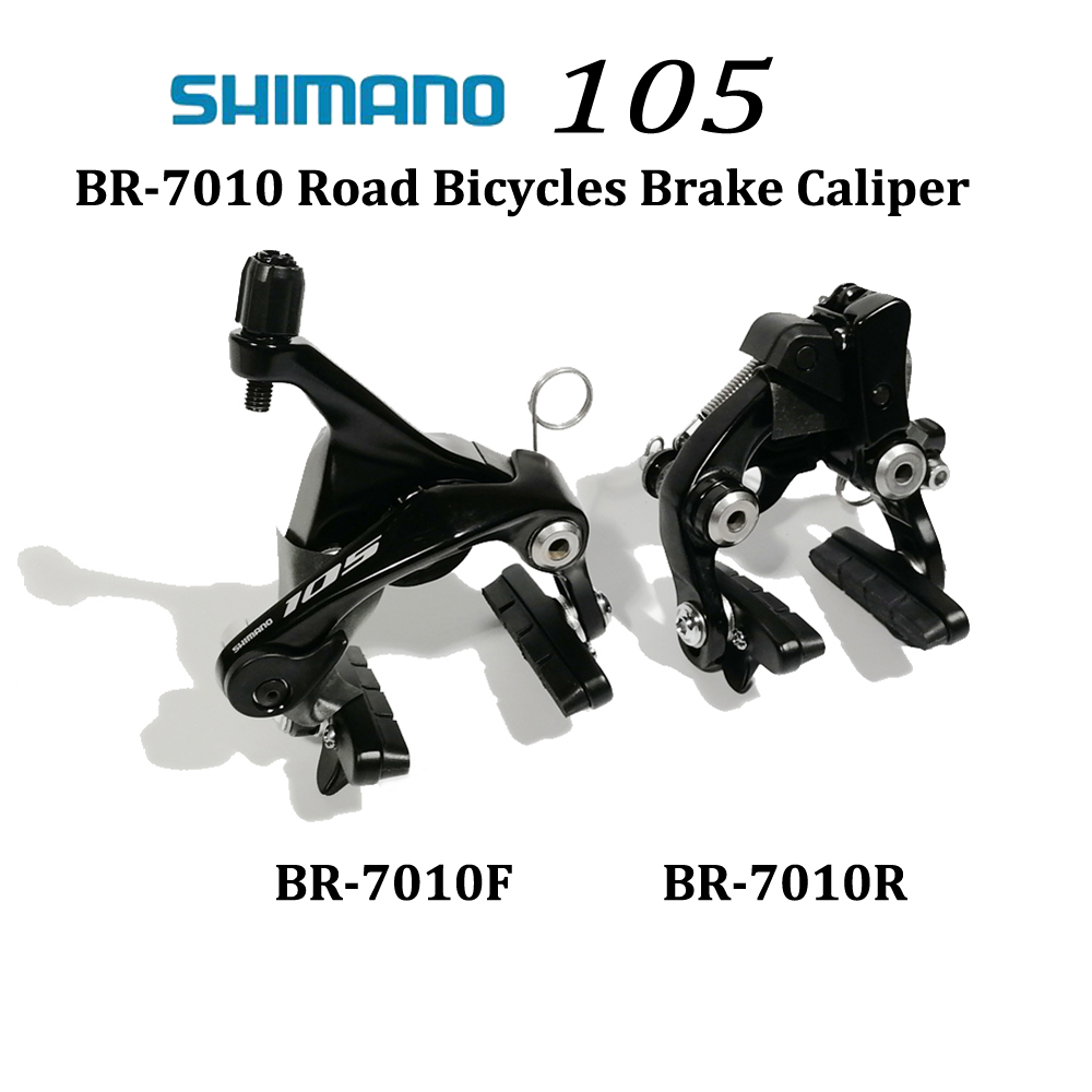 купить Shimano 105 BR-R7010 Dual Pivot BRAKE CALIPER R7010 V Brake Road Bicycle front and REAR BRAKE CALIPER по цене 6216.54 рублей