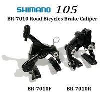 Shimano 105 BR-R7010 Dual Pivot BRAKE CALIPER R7010 V Brake Road Bicycle front and REAR BRAKE CALIPER nicecnc rear brake caliper support