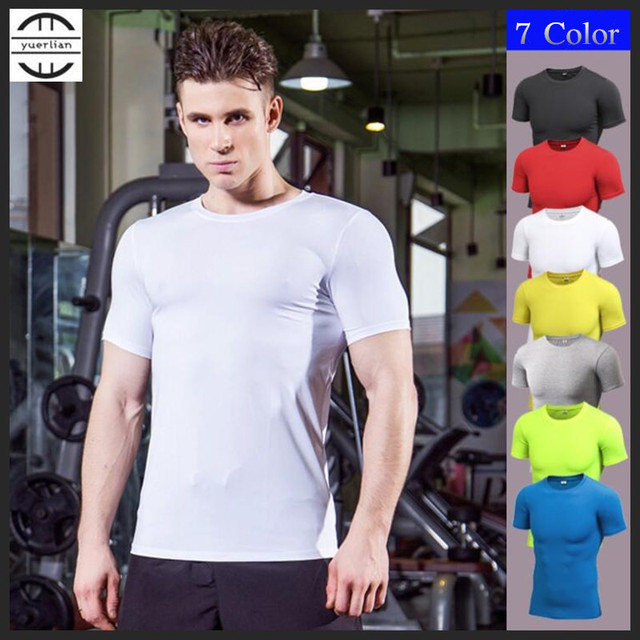 Men Pro Wicking&Quick-Drying T-Shirt,Elastin Compression Tight Short Sleeve Underwaer Undershirts,Sporting Protect,Anti Wrinkle