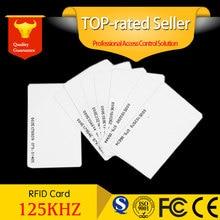 EM4100 EM4102 RFID 125KHz 근접 방수 도어 제어 엔트리 액세스 직원 ID 카드 EM 카드 스마트 카드