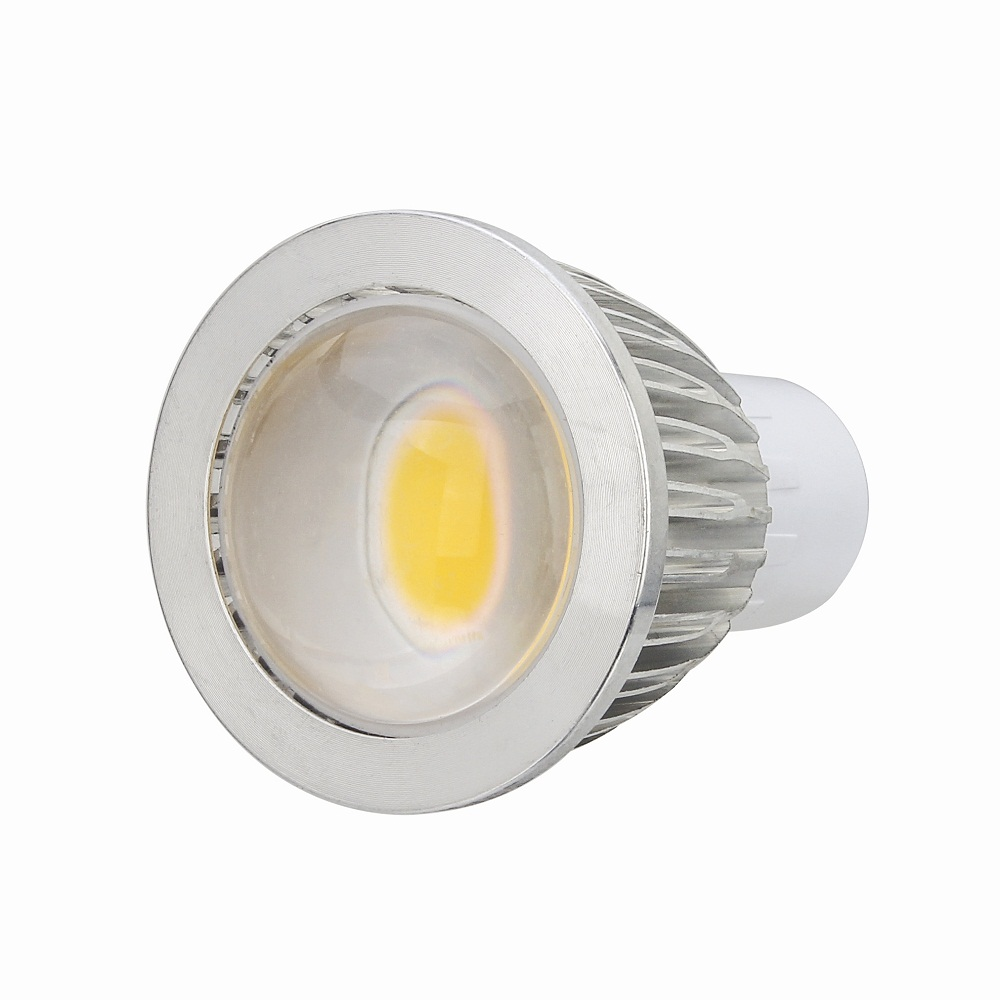 GU10 220V LED Bulb Energy Saving COB led spotlight Light Bright Indoor Lamp With Retail Packaging