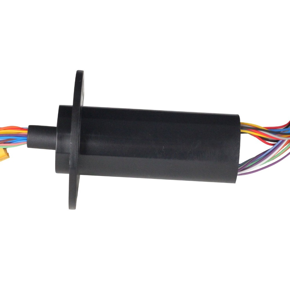 FREE Ship 22MM 36 Circuits 2A Capsule Slip Ring 36 Conductors rotary electrical collector  electrical interfaces