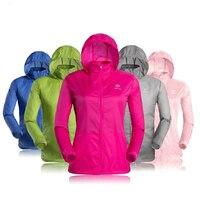 VipSport Rüzgarlık Ceket Waterpoof Ultra Hafif Kadınlar Koşu Ceket Açık Giyim Anti-Uv UPF 40 Güneş Koruma Run Yağmurluk
