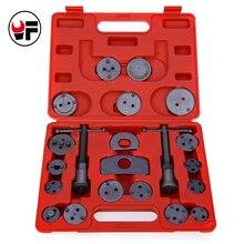 Discount! 21pcs Universal Car Disc Brake Caliper Wind Back Brake Piston Compressor Tool Kit For Most Automobiles Garage Repair Tool DN173