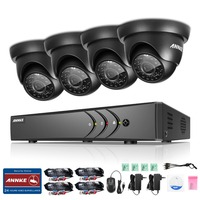 ANNKE 8CH 1080P HDMI 720P CCTV Security System DVR And 4 720P 1200TVL IR Outdoor Weatherproof
