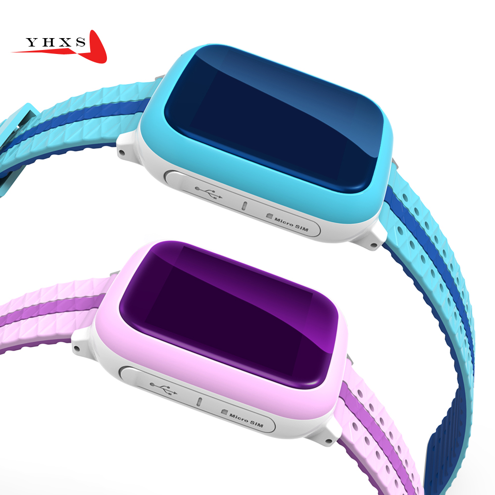 Waterproof Smart Watch Kids Children Baby GPS WiFi Locator Tracker SOS Call SIM Card Remote Monitor