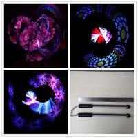 Новый программируемый светодиодный 50 пикселей POI LED Nunchakus с USB можете изменить фотографии для сценического шоу KTV бар события и вечеринок