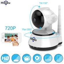 Casa de Segurança Câmera IP Sem Fio Wi-fi Inteligente Câmera WI-FI Gravação de Áudio Vigilância Monitor Do Bebê HD Mini CCTV Camera Hiseeu FH2A