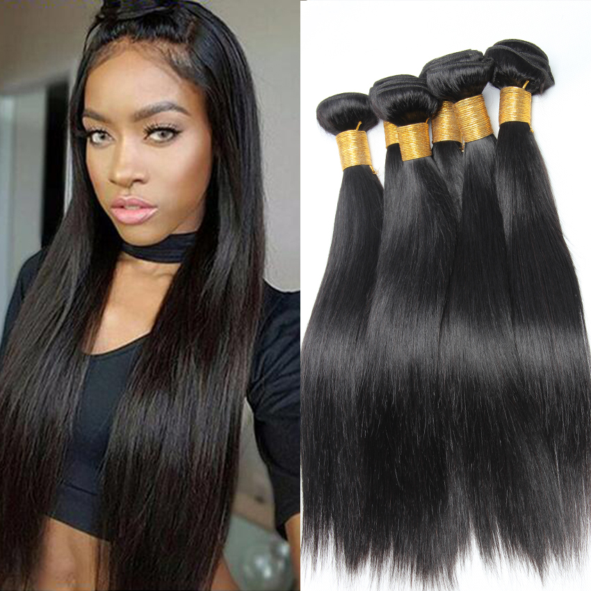 3 Bundles Peruvian Straight Virgin Hair Unprocessed ...