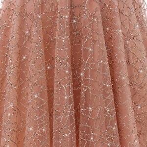 Image 5 - VKbridal/блестящее мини платье с глубоким v образным вырезом и кристаллами для выпускного вечера, сверкающие платья для выпускного вечера, короткие платья для девочек