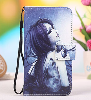 sneakers for cheap bb654 f9b95 US $4.79 40% OFF|Cartoon Phone Cover PU Leather Stand Wallet Flip Cover 5.0  Inch For Phicomm Clue 630 Mobile Phone Case on Aliexpress.com | Alibaba ...