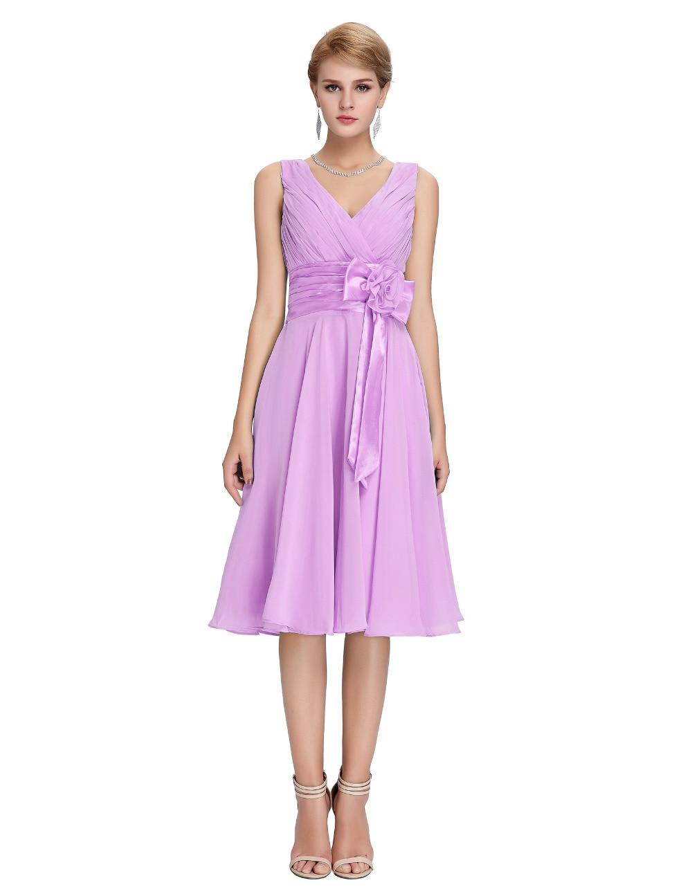 Famoso Vestidos De Dama Baratos Púrpura Ideas - Colección de ...