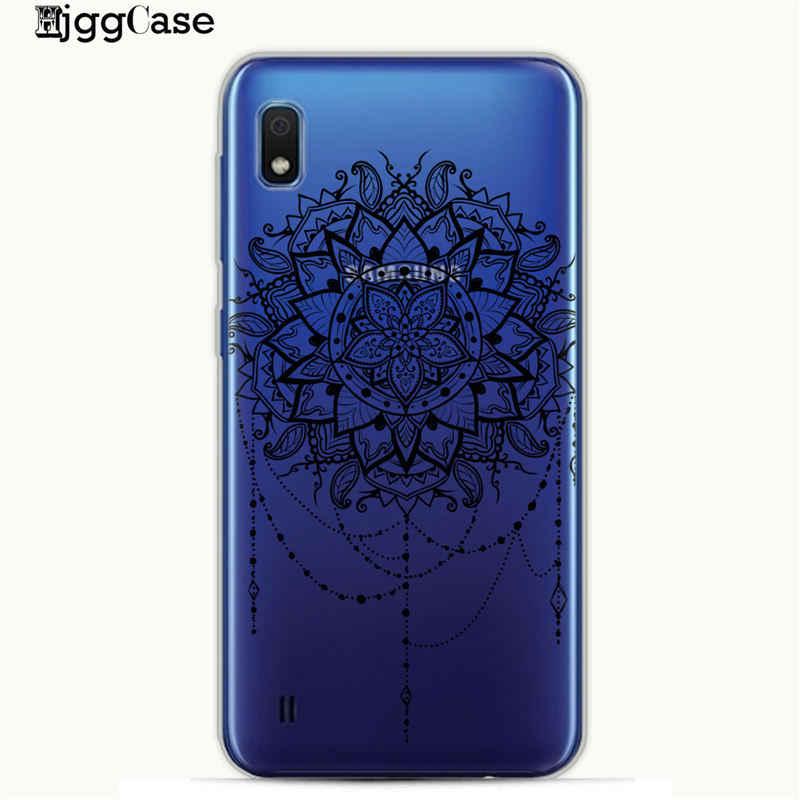 Màu lông hoa Điện Thoại Bìa Trường Hợp Đối Với Samsung A10 A20 A30 A50 A70 A6 A8 A7 A9 2018 Bìa Đối Với bìa S10 S10e S8 S9 Cộng Với
