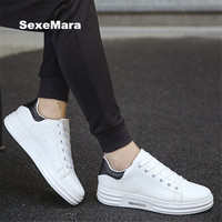 Women S Shoes Autumn Men S Shoes Lovers Small White Shoes Leather Casual Shoes Outdoor Flat