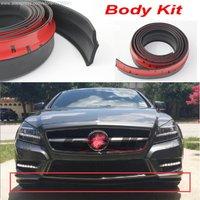 For Mercedes Benz W218 W219 W211 W204 W203 W210 W124 Auto Car Bumper Lips / Spoiler to Tuning / Body Kit Strip / Front Tapes
