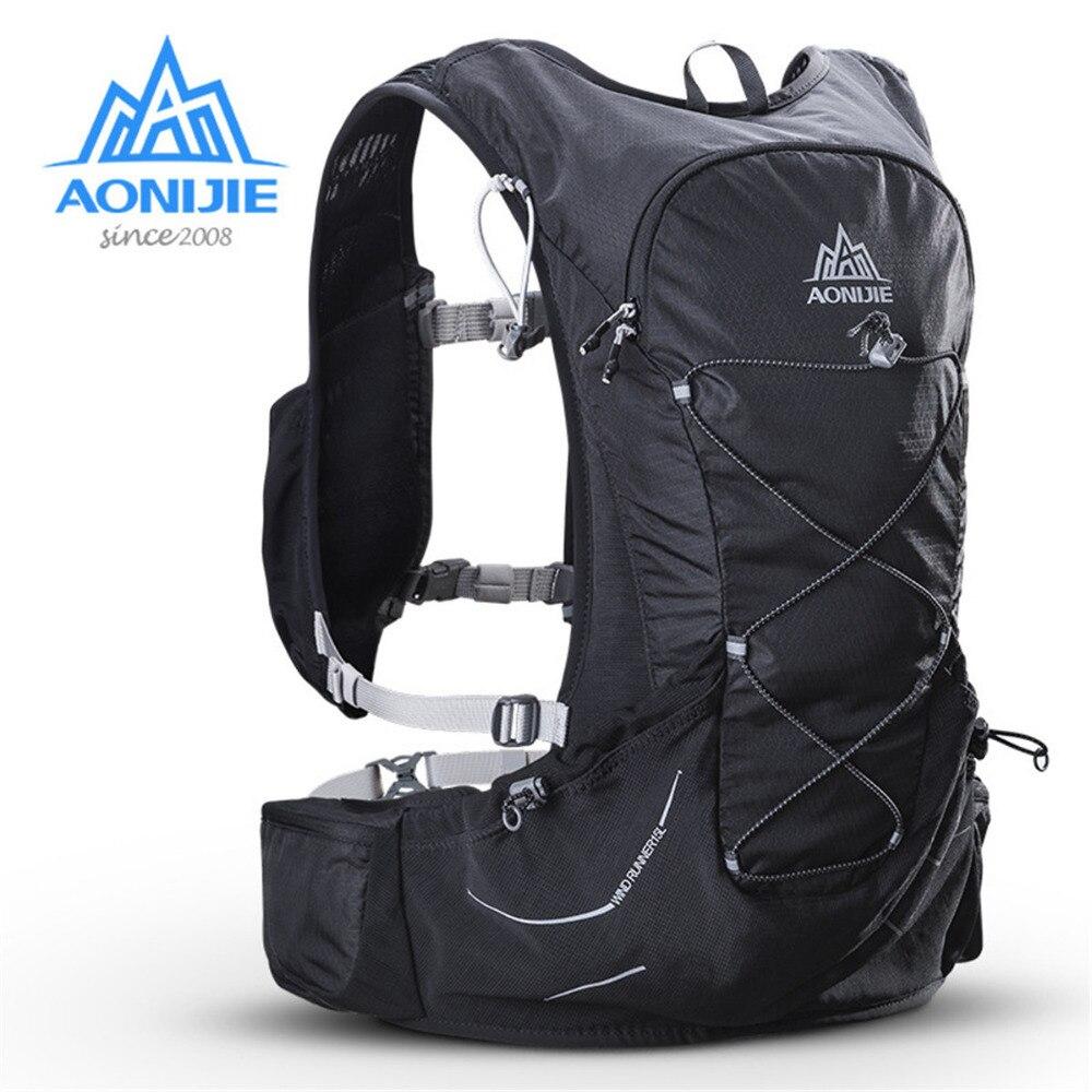 AONIJIE sac à dos d'hydratation léger extérieur sac à dos avec vessie 3L pour randonnée Camping course Marathon