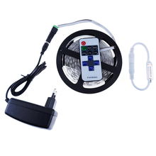 5630 led strip set with RF Controller and Power supply 60led/M DC12V SMD ribbon strip light Not waterproof 5 color fast ship LH