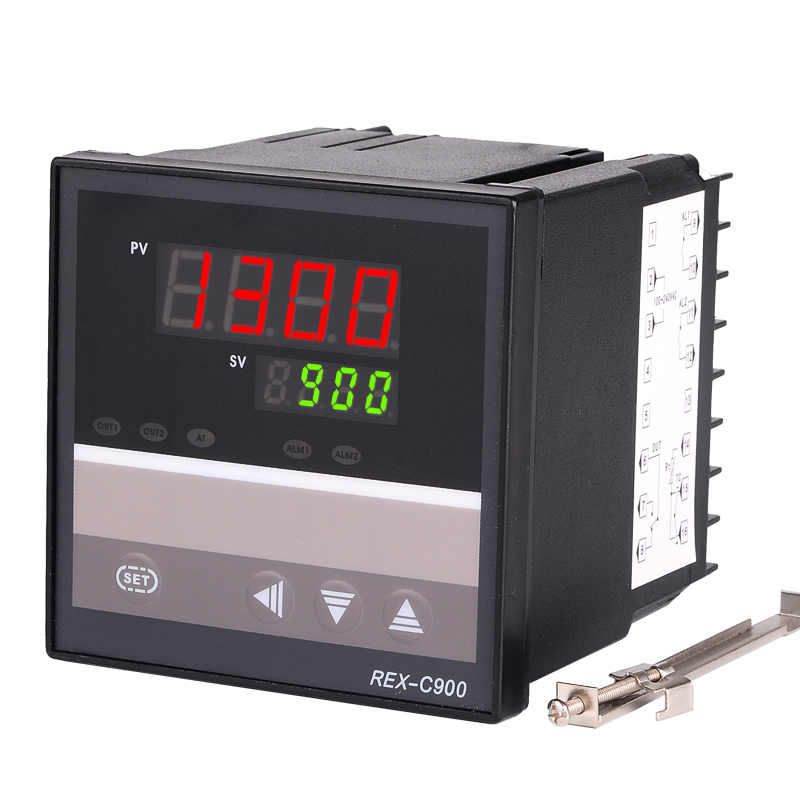 Digital PID Temperature Controller REX-C900 Thermocouple Input Relay//SSR Output