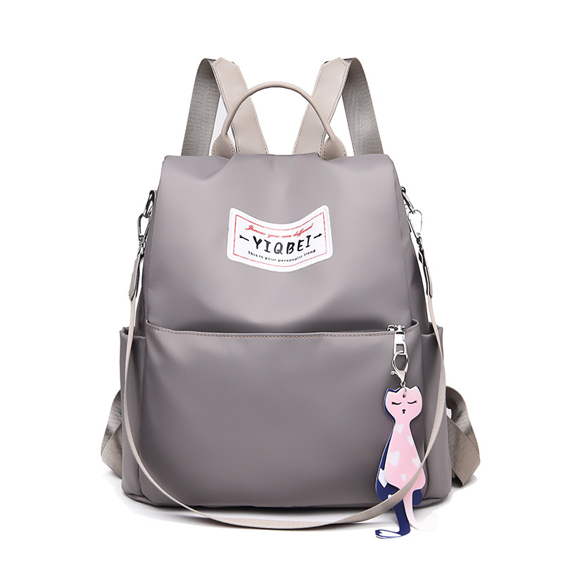 Fashion Anti theft Women Backpacks Famous Brand Ladies Large Capacity Backpack High Quality Waterproof Oxford Women