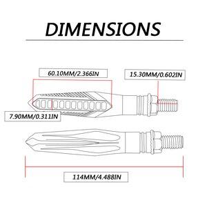 Image 5 - Moto Segnale di Girata Della Luce accessori CB190 MT 09 HA CONDOTTO segnale di svolta impermeabile moto 150NK 12V spia indicatore di flusso