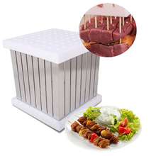 Manual Meat Grinders Household & Commercial BBQ Kebab Maker Box Barbecue Skewers Splitters Kitchen Tools
