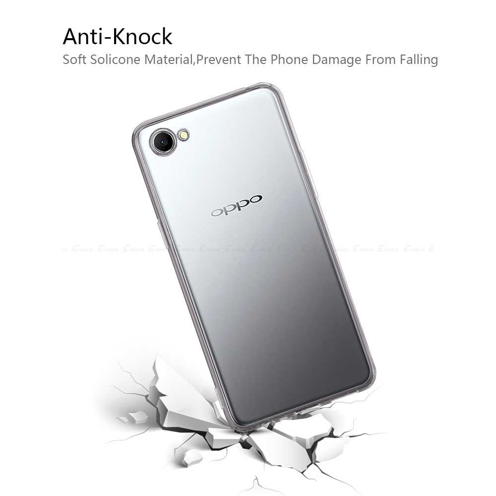 best cheap c4a24 4d134 Clear Soft Back Cover For Oppo A83 A79 A77 A75 A73 A73s A71k A71 2018 A59  A57 A39 A37 A33 AX5 A3s A3 A1 Ultra Thin TPU Case
