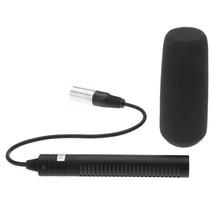 ไมโครโฟนระดับมืออาชีพสำหรับ Sony PD190P HVR A1C HVR V1C DSR PD150P DSR 250 สำหรับ AJ  D410MC AJ  D615MC AJ  D908MC 180