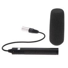Профессиональный микрофон для Sony PD190P, HVR A1C, HVR V1C, DSR PD150P для DSR 250, AJ  D410MC, AJ  D615MC, 180, AJ  D908MC