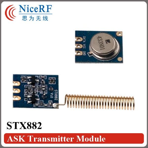 20 stks / partij VRAAG Zender STX882 433 MHz gratis verzending inclusief antenne