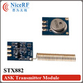 20pcs/lot ASK Transmitter STX882 433MHz  free shipping including antenna
