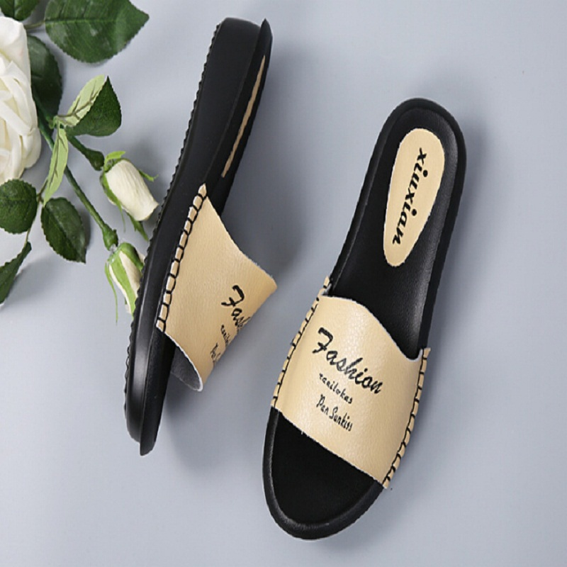 ФОТО Size 35-40 genuine leather Summer woman sandals fashion ladies slippers good quality Diamond thick high-heeled female shoes