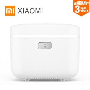 Image 1 - Электрическая рисоварка Xiaomi HI, сплав 3л, чугунная скороварка с подогревом, пищевой контейнер, Кухонная техника, приложение Wi Fi