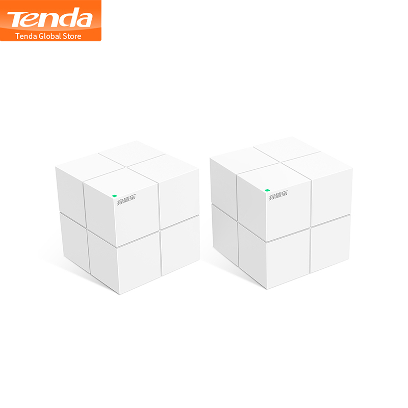 Tenda MW6 Mesh Wifi Wireless Router Mesh Gigabit WiFi Router 2 4G 5GHz Wi Fi Repeater