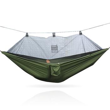 Do spania hamak pojedynczy na zewnątrz spadochron hamak