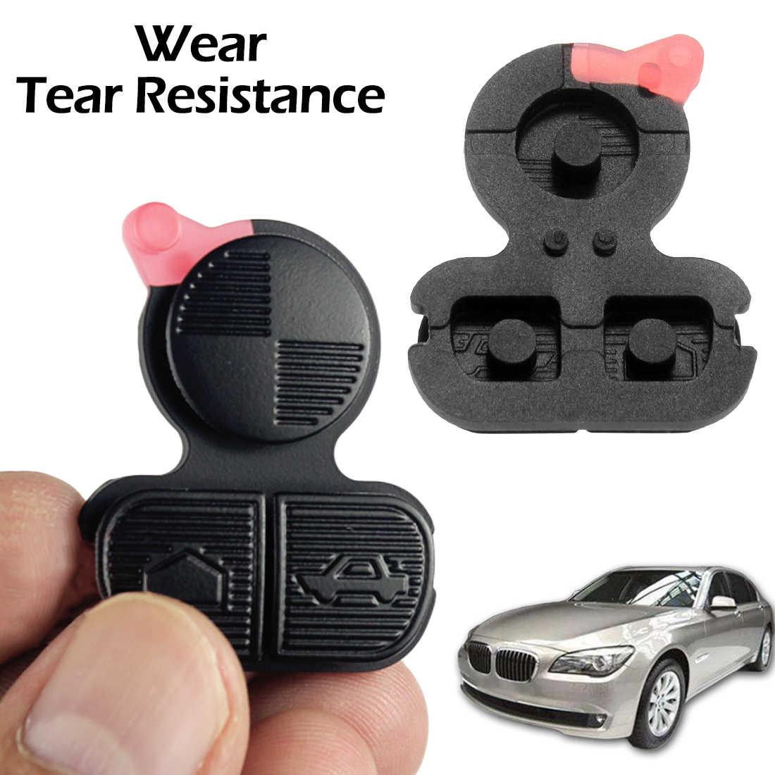 سيارة مفتاح حامل السيارات مفتاح علبة 3 أزرار مفتاح قذيفة لسيارات BMW سلسلة 3 5 7 E36 E38 E39 Z3 Z4 Z8 X3 X5 سيليكون سيارة قذيفة