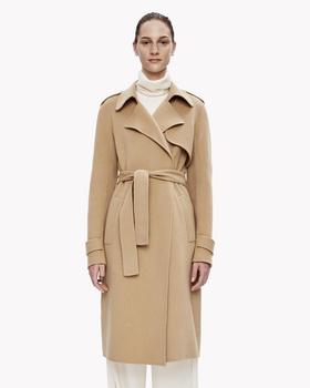 Women Classic Woolen Coat