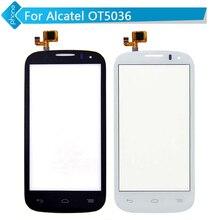 Alcatel pop touch дигитайзер экраном сенсорным one стекла или белый черный
