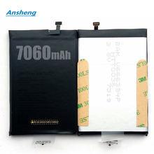 Ansheng高品質7060 mahバッテリ用doogee BL7000 5.5インチのスマートフォン
