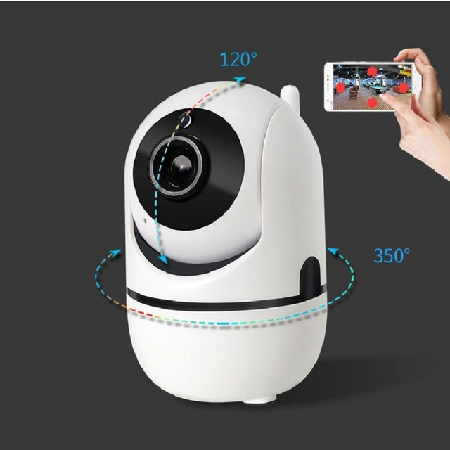 wdskivi Auto Track 1080P IP Camera Surveillance Security Baby Monitor WiFi Wireless Camera Mini Smart Alarm CCTV Indoor Camera