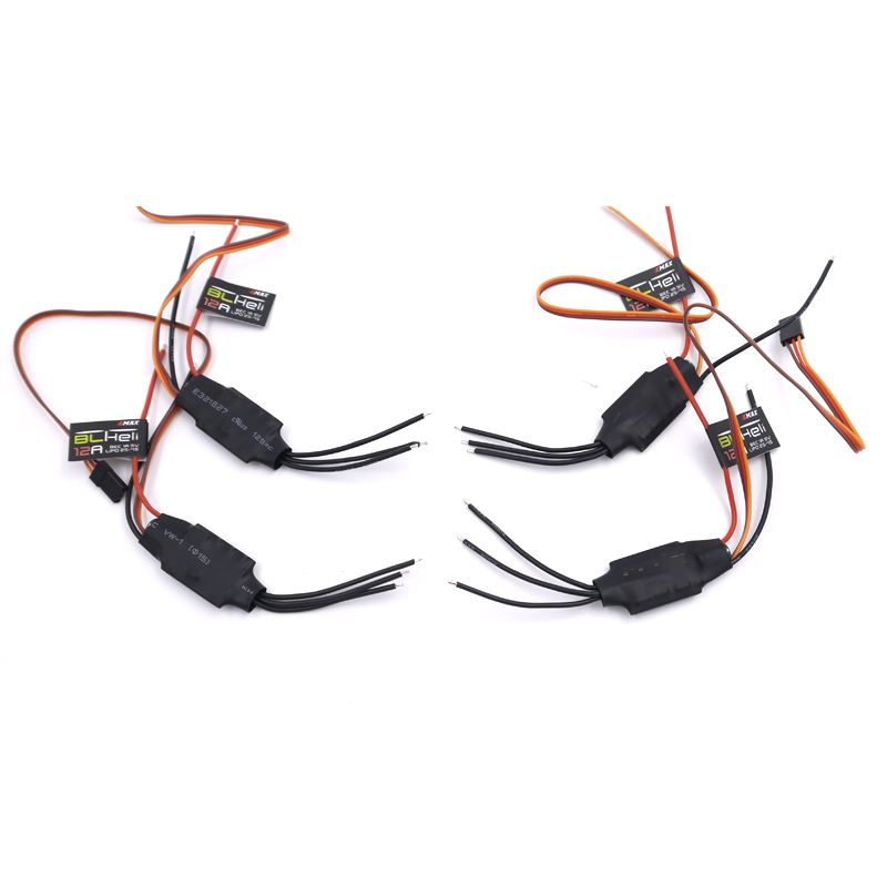 Emax 12A BLHELI ESC 1A 5V Speed Controller For FPV QAV250 280 270 Quadcopter 4pcs quadcopter drone 4pcs 12a mini blheli brushless esc pwm 1 3s speed controller for qav250 diy rc quadcopter multicopter 250 drone zmr250