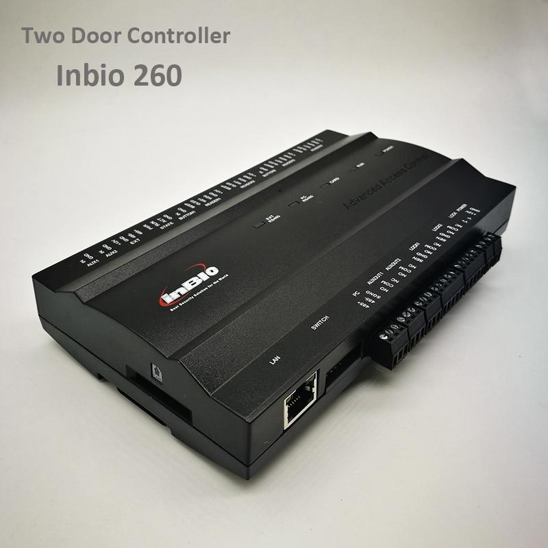 ZK Inbio260 Tcp/Ip Access Control System Two Door Security Access Controller IP-based Double Door Access Control Panel Inbio 260