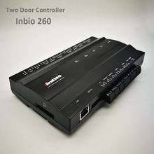 Zk inbio260 tcp/ip 액세스 제어 시스템 2 도어 보안 액세스 컨트롤러 ip 기반 이중 도어 액세스 제어 패널 inbio 260