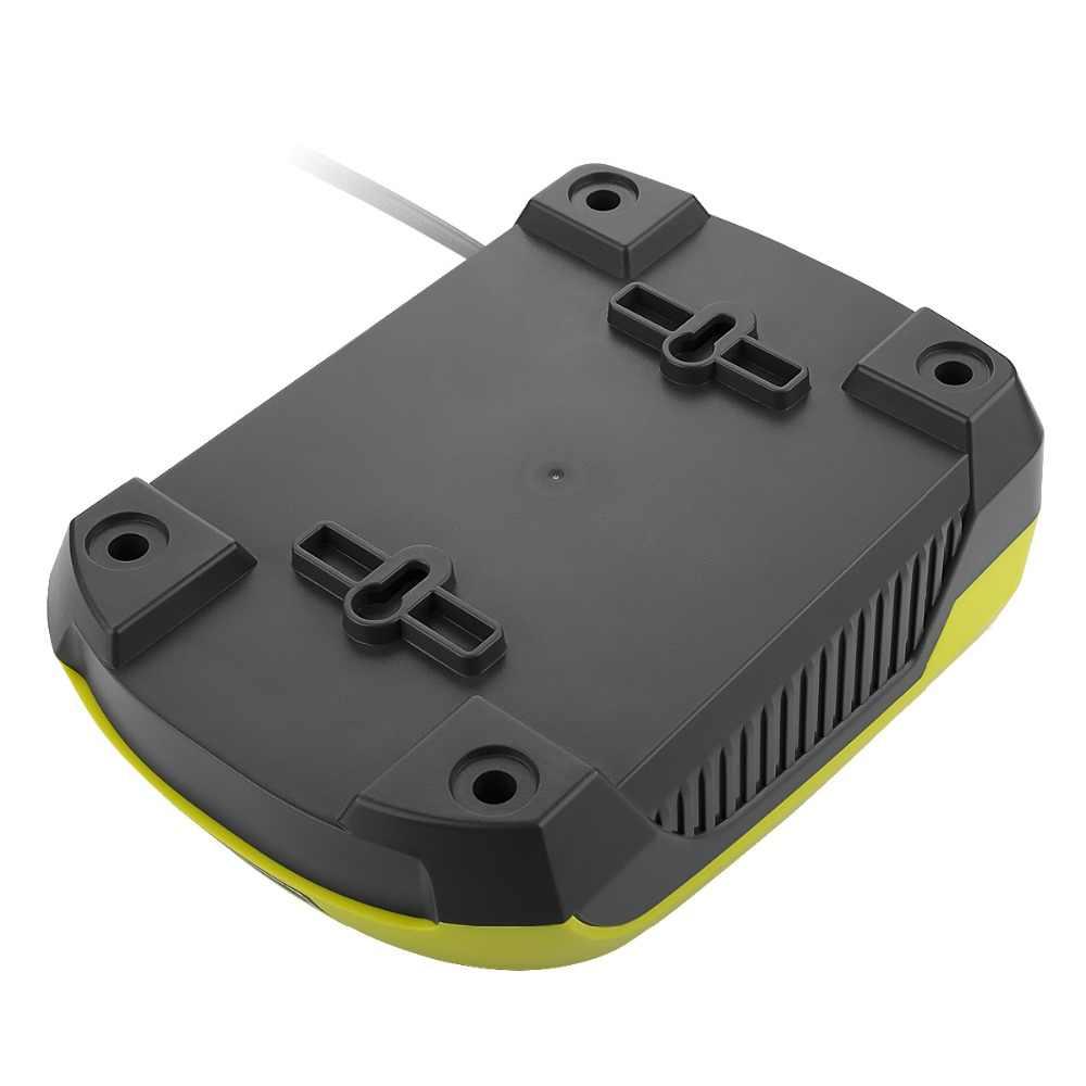جديد ل RYOBI شاحن بطارية 12 14.4 فولت 18 فولت ني-CD متولى حسن ليثيوم أيون P110 ، P111 ، p107 P108 ل Ryobi واحد + بطارية مع USB ميناء 3A