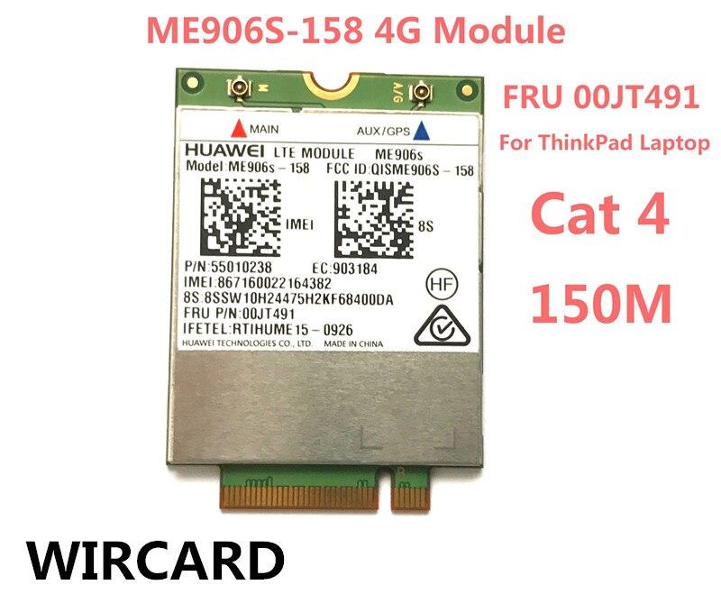For ME906S ME906S 158 FRU 00JT491 LTE 4G Card for Thinkpad L460 T460P T560 X260 P50s