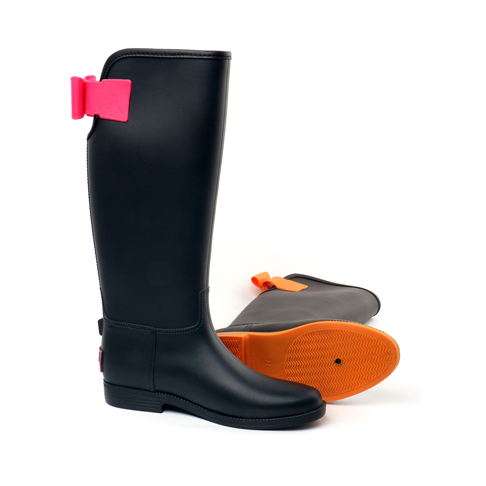 TONGPU Presale High Rain Boot With Different Colors Ladies Fashion Style Spring Season Hot Sale Comfortable Outsole Non-Slip