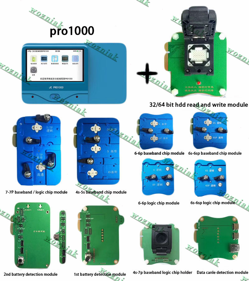 Pro1000s Multi-function programmer hard disk ic read write tool for iPhone 7 7p 6s 6 5s 4s logic baseband CHIP NAND Programmer 25pcs lot 74hc00n dip14 four two input nand gate logic chip 74hc00 sn74hc00n