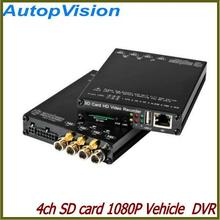 Comprobador de precios Full HD 1080 p coche DVR (4CH + WiFi + g-sensor + GPS + 3G, sin pantalla)